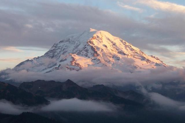 Mt Rainier (Credit: National Park Service)